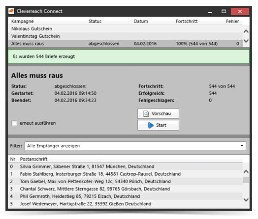 Cleverreach: GREYHOUND® Software
